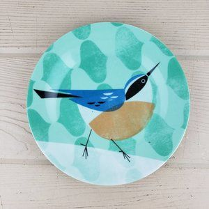 1950's Inspired Magpie Birdy Decorative Plate